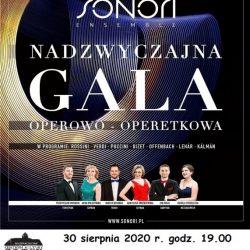 Gala Operowo-Operetkowa w wykonaniu grupy Sonori Ensemble